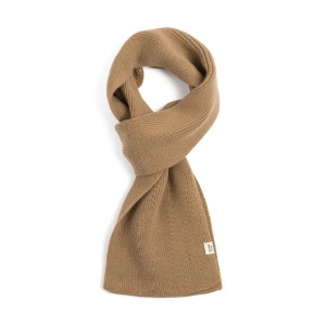 와일드브릭스 WILD BRICKS - CASHMERE BLEND KNIT MUFFLER (beige)