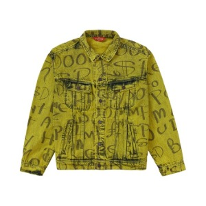 *국내배송* 20FW 슈프림 블랙아크 청자켓 Supreme Black Ark Denim Trucker Jacket Yellow