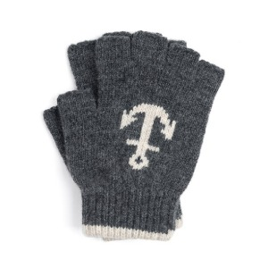 와일드브릭스 WILD BRICKS - LW ANCHOR FINGERLESS GLOVES (charcoal)
