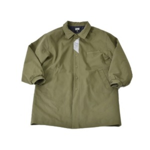 프리키쉬빌딩 FREAKISH BUILDING FLEK COTTON HALF COAT (KHAKI)