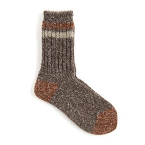 와일드브릭스 WILD BRICKS - AP MELANGE SOCKS (brown)