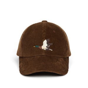 와일드브릭스 WILD BRICKS - CORDUROY MALLARD CAP (brown)