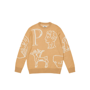 *국내배송* 팔라스 Palace Archaeology Knit Camel